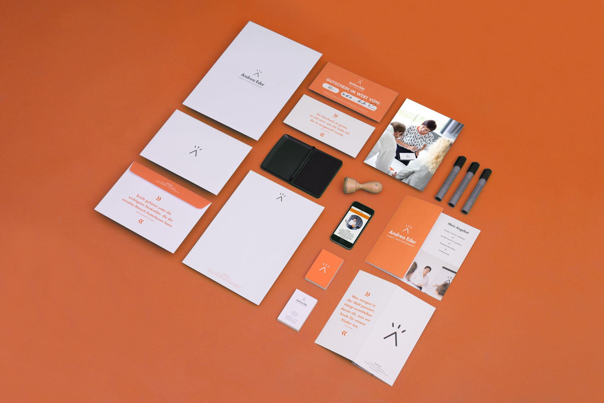 Übersicht Andrea Eder – Design
