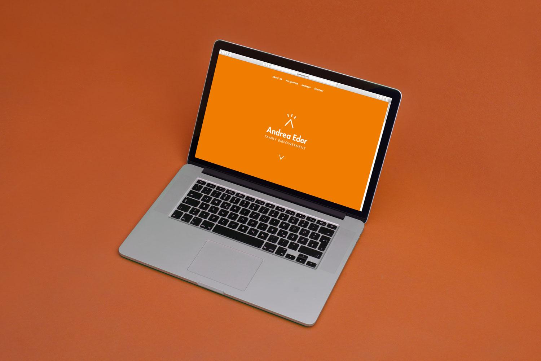 Website Gestaltung für Andrea Eder