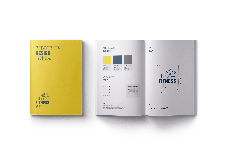 Brand Manual für the fitness guy