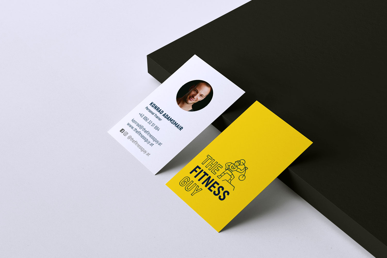 Visitenkarten The Fitness Guy