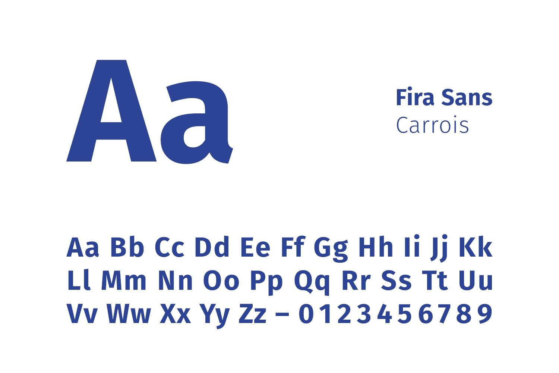 Schriftfamilie Fira Sans